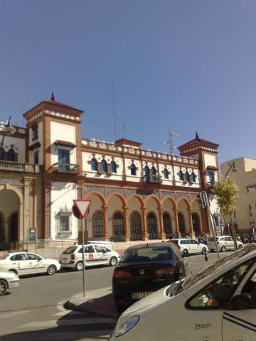 Bahnhof Jerez - (Andalusien, Westen, August September)