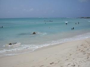 Aruba, Arashi Beach im Juni - (Insel, Karibik, Sommerurlaub)
