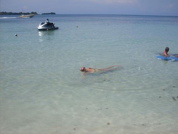 Das war in Negril - da ist auch das FireFly...kleines Hotel - (Wetter, Jamaika)