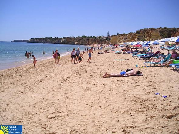 Strand - Armacao de Pera, Algarve, Portugal - (Urlaub, Strand, Sommer)