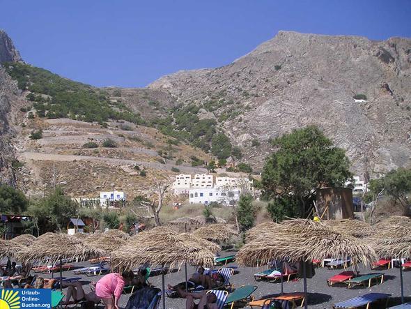 Hotel Epavlis, Kamari, Santorin - (Urlaub, Griechenland, Sommer)