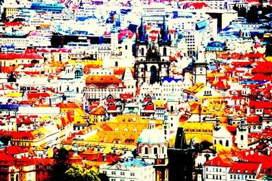 Prag ist bunter als man glaubt - (Prag, Lieblingsorte, Tschechischen Republik)
