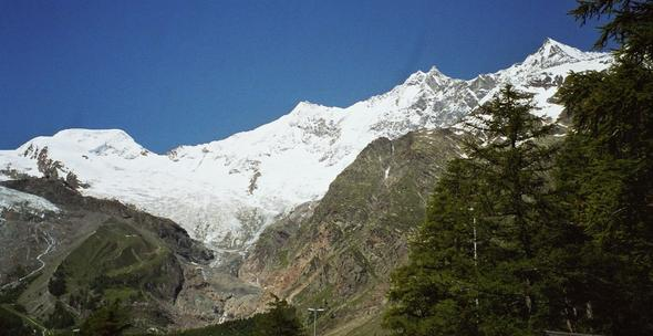 Saas Fee - (Winter, Skigebiet, Skiurlaub)