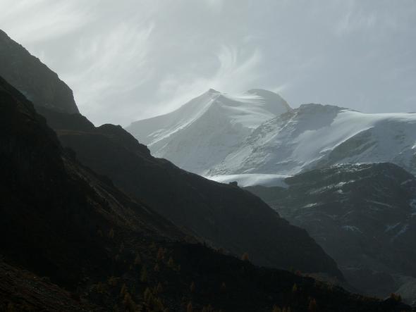 Turtmanntal mit Hütte - (Reise, Urlaub, Wandern)