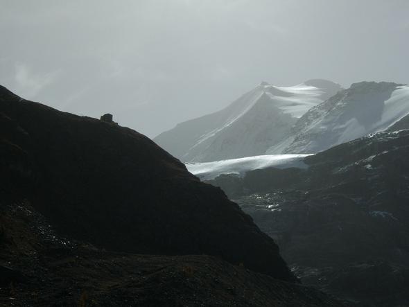 Turtmanntal mit Hütte - (Winter, Wanderung, Tirol)