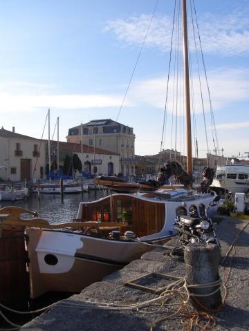 Der alte Hafen von Marseillan - (Frankreich, Sehenswürdigkeiten, Südfrankreich)