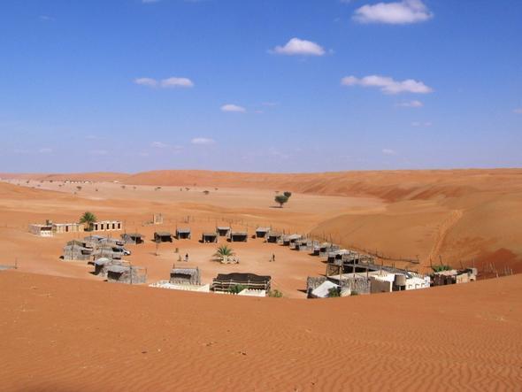 Beduinencamp in der Wüste von Oman - (Strand, Strandurlaub, Urlaubstipps)