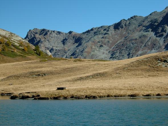 Giw, Pass und See - (Alpen, Allgäu, Hütte)
