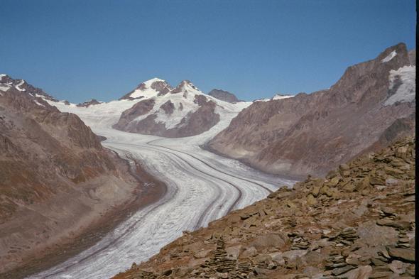 Aletschgletscher - (ferienwohnung, Berge, Wellnessurlaub)