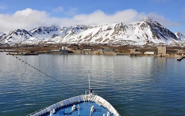 Spitzbergen mit dem Schiff - (Kreuzfahrt, Route)
