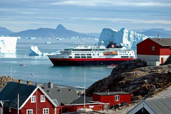 Grönland mit dem Schiff - (Kreuzfahrt, Route)