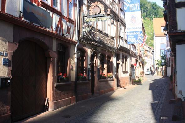 Kaltloch Braustube im Miltenberger Schwarzviertel - (Deutschland, Bayern, Essen gehen)