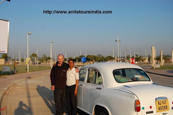 Bangali bringt mich in Jaipur an den Flughafen - (Reiseveranstalter, Indien)