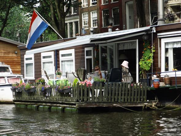 Hausboot - (Amsterdam, Brüssel, Rotterdam)