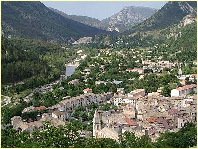 Castellane - (Südfrankreich, Provence, Verdonschlucht)