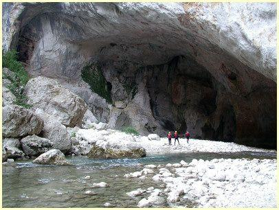 Verdonschlucht, Taubenhöhle - (Südfrankreich, Provence, Verdonschlucht)