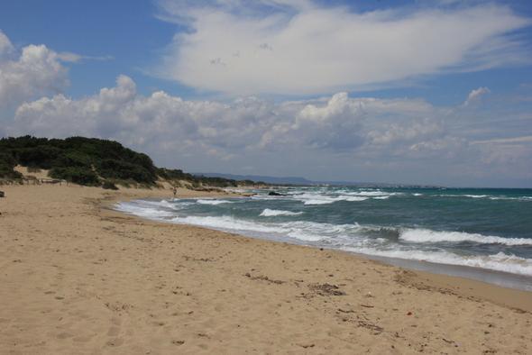 Strand bei Ostuni - (Italien, bar, Apulien)