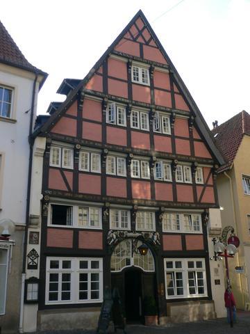 Hotel Walhalla Restauranteingang - (Deutschland, Urlaub)