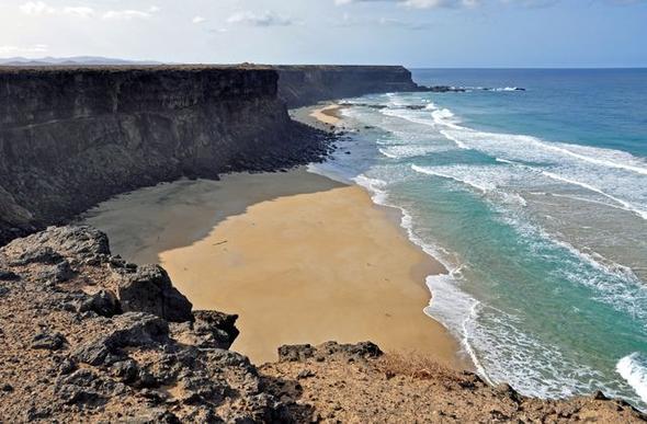 Die Westküste von Fuerteventura - (Kreuzfahrt, Kanaren)