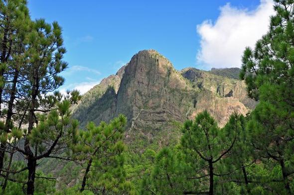 Caldera de Taburiente, La Palma - (Kreuzfahrt, Kanaren)