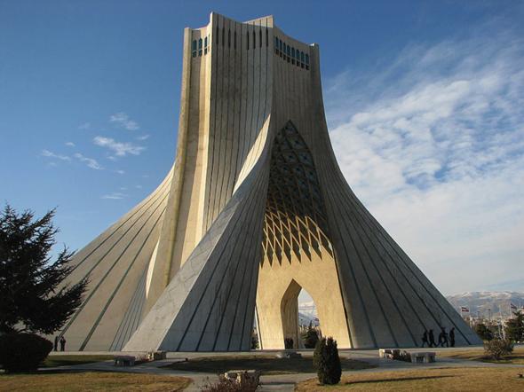 azadi turm, teheran - (Iran, Persien)