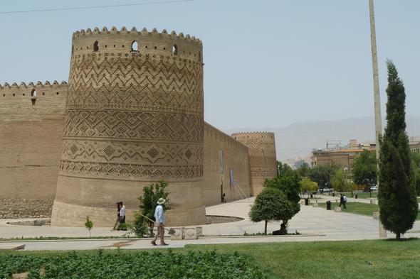 arg-e-karim-khan festung, shiraz - (Iran, Persien)