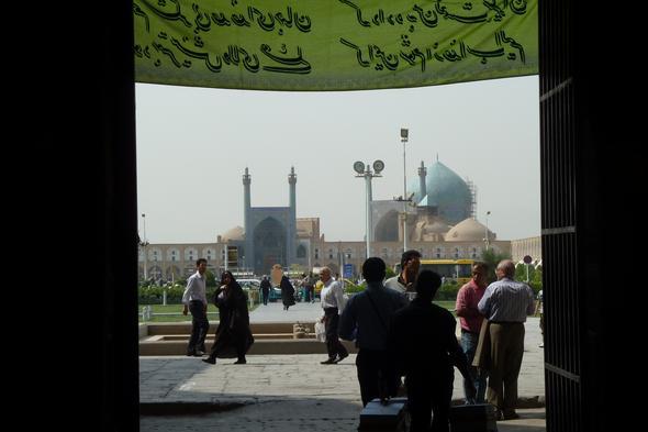 imam platz, isfahan - (Iran, Persien)
