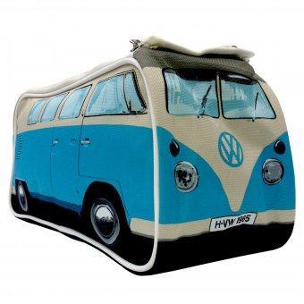 Kulturbeutel VW Bus  - (Geschenk, Utensil, praktischer Helfer)