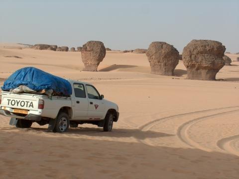Sahara Algeriens, Tagrera, Foto B.Agada - (Reise, Reiseziel, Pauschalreise)