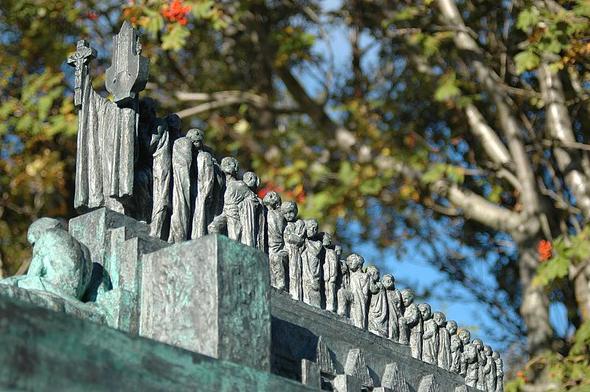 Im Skulpturengarten des Bildhauers Einar Jónsson - (Sehenswürdigkeiten, Island, Hauptstadt)