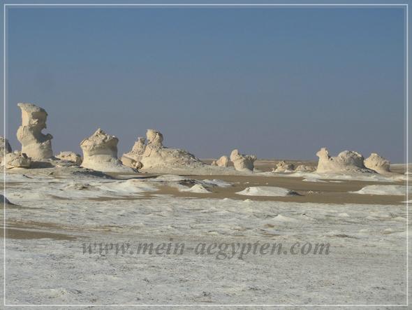 Naturschutzgebiet Weiße Wüste  - (Ägypten, Natur, Nordafrika)