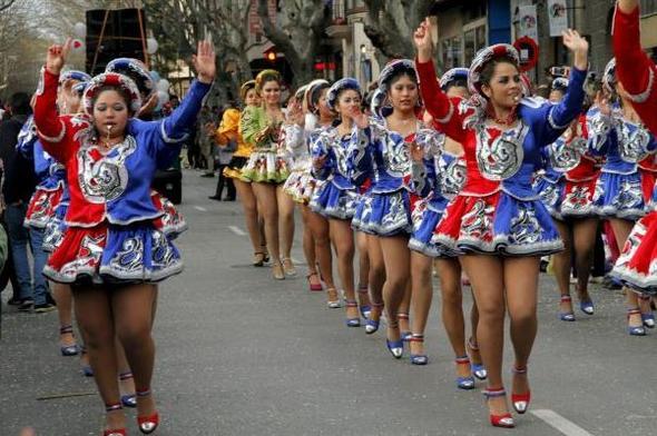 Karnevalumzug Palma 2014 - (Mallorca, Balearen, Karneval)