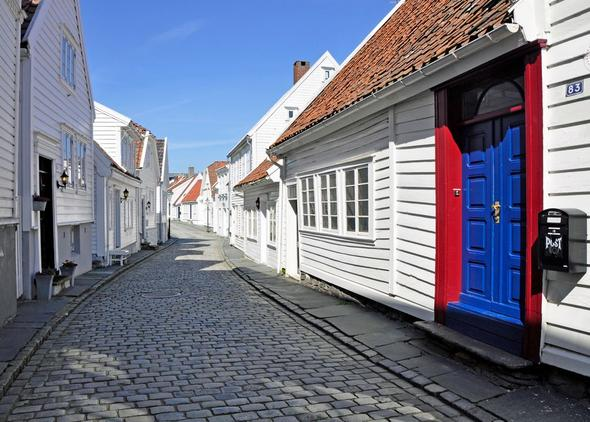 Die Altstadt von Stavanger - (Städtereise, Norwegen)