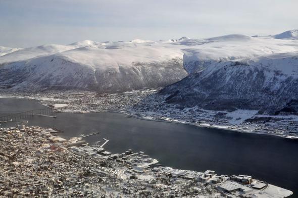 Blick auf Tromsø - (Städtereise, Norwegen)