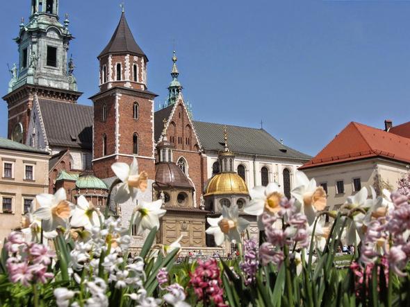 Wawel Burg - (Städtereise, Flugreise, Polen)