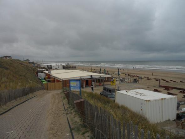 Weg zum Strand - (Holland, Badeurlaub, Entspannung)