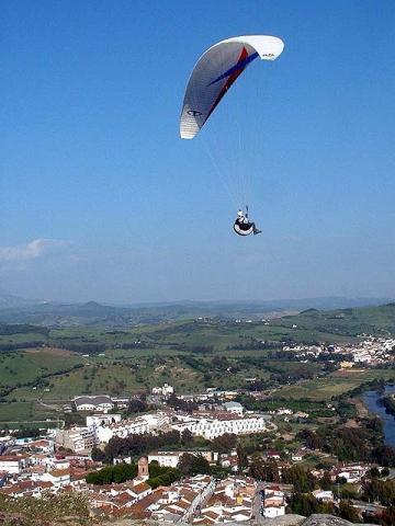 Jimena aus der Luft - (Spanien, Reiseziel, Wandern)
