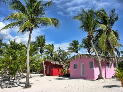 Die Häuschen so bunt wie das Leben in der Karibik - (Empfehlung, Kreuzfahrt, Karibik)