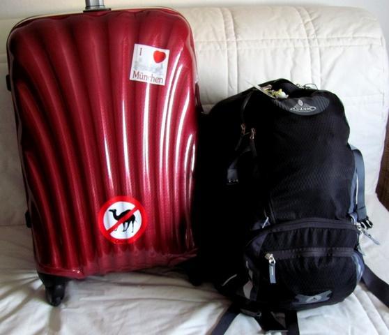 Mein Gepäck für 15 Monate... - (Rundreise, Gepäck, Koffer)