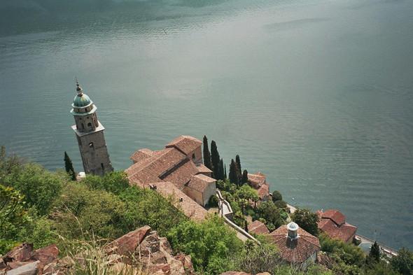 Morcote bei Lugano - (Italien, Urlaub)