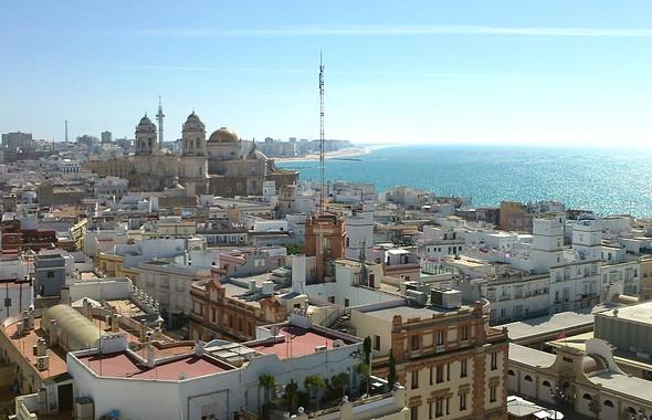 Aussicht über Cadiz - (Europa, Strand, Barcelona)