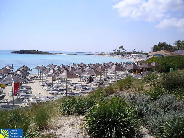 Nissi Beach, Agia Napa, Zypern - (Zypern, welcher Ort)