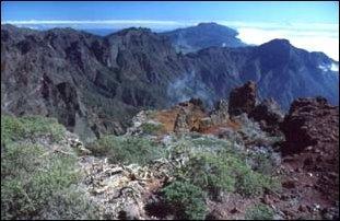 Die Caldera de Taburiente auf La Palma - (Urlaub, Kanaren, Teneriffa)