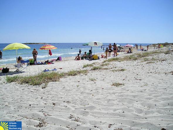 Strand bei Ottiolu, Sardinien - (Ort, Sardinien)