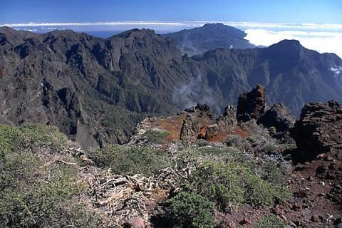 Landschaft auf La Palma - (Reise, Urlaub)
