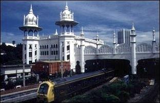 Der Bahnhof von Kuala Lumpur in Malaysia - (Sicherheit, Malaysia, Reisesicherheit)