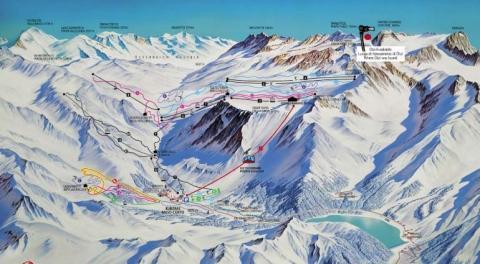 - (Italien, Österreich, Skigebiet)