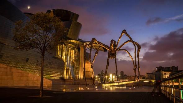 Guggenheim Museum Bilbao - (Rom, November)