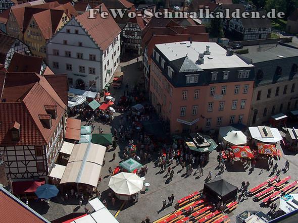 Die Schmalkalder Schüsselweihnacht findet auf dem Altmarkt statt - (Städtereise, Kultur, Kurzurlaub)
