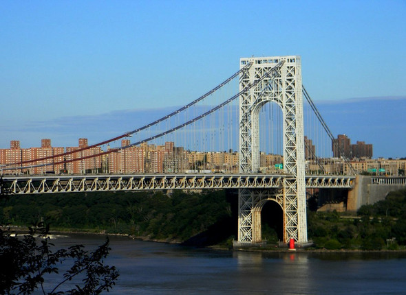 The Great Grey Bridge and the Little Red Lighthouse - (USA, New York City, Hot Spots)